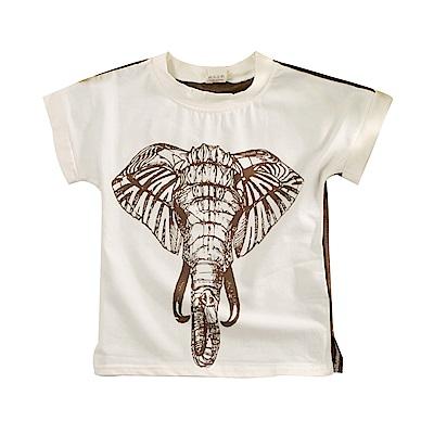 大象印花短袖T恤 k51143 魔法Baby