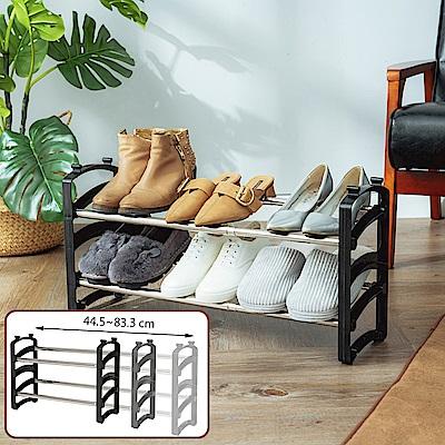 樂嫚妮 可疊式伸縮鞋架/組合/DIY