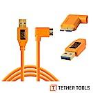 Tether Tools CU61RT15-ORG USB3.0傳輸線A轉MICRO B