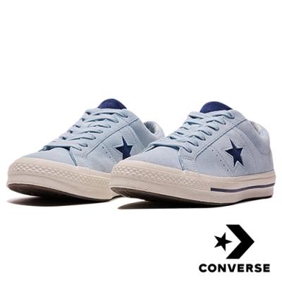 CONVERSE ONE STAR 男女休閒鞋 藍 160585C