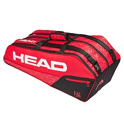 HEAD Core Combi 6支裝球拍袋-紅黑 283519