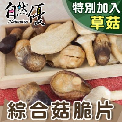 自然優 綜合菇脆片40g