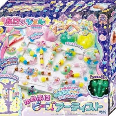 任選日本SEGA 魔法水晶吊飾 夜光串珠豪華組 公司貨 SG80017