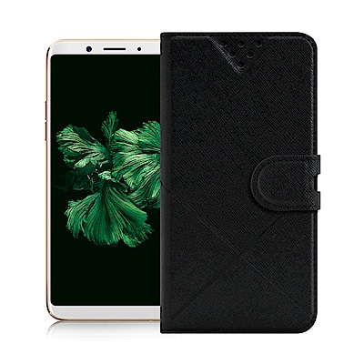 NISDA for OPPO A73/A75s/A75 風格磨砂側翻皮套