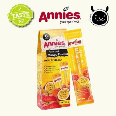 紐西蘭Annies 全天然水果條-百香芒果(15gx6片)