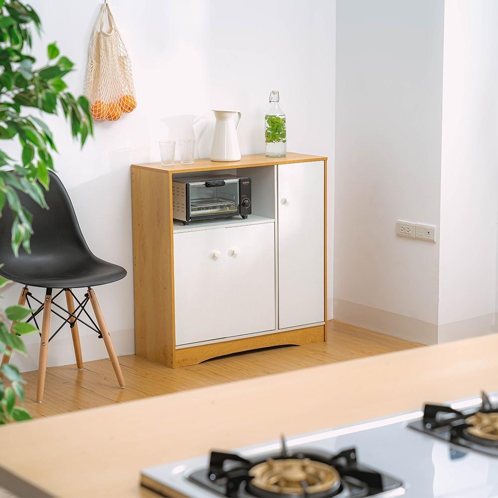 樂嫚妮 多功能廚房收納櫃/邊櫃/廚櫃/三門六格