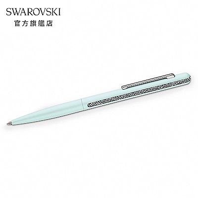SWAROVSKI 施華洛世奇 CRYSTAL SHIMMER 湖泊綠水晶圓珠筆