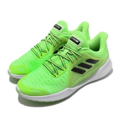 adidas 慢跑鞋 ClimaCool Vent 運動 男鞋 愛迪達 三線 路跑 涼感 透氣 穿搭推薦 綠 黑 EE3914