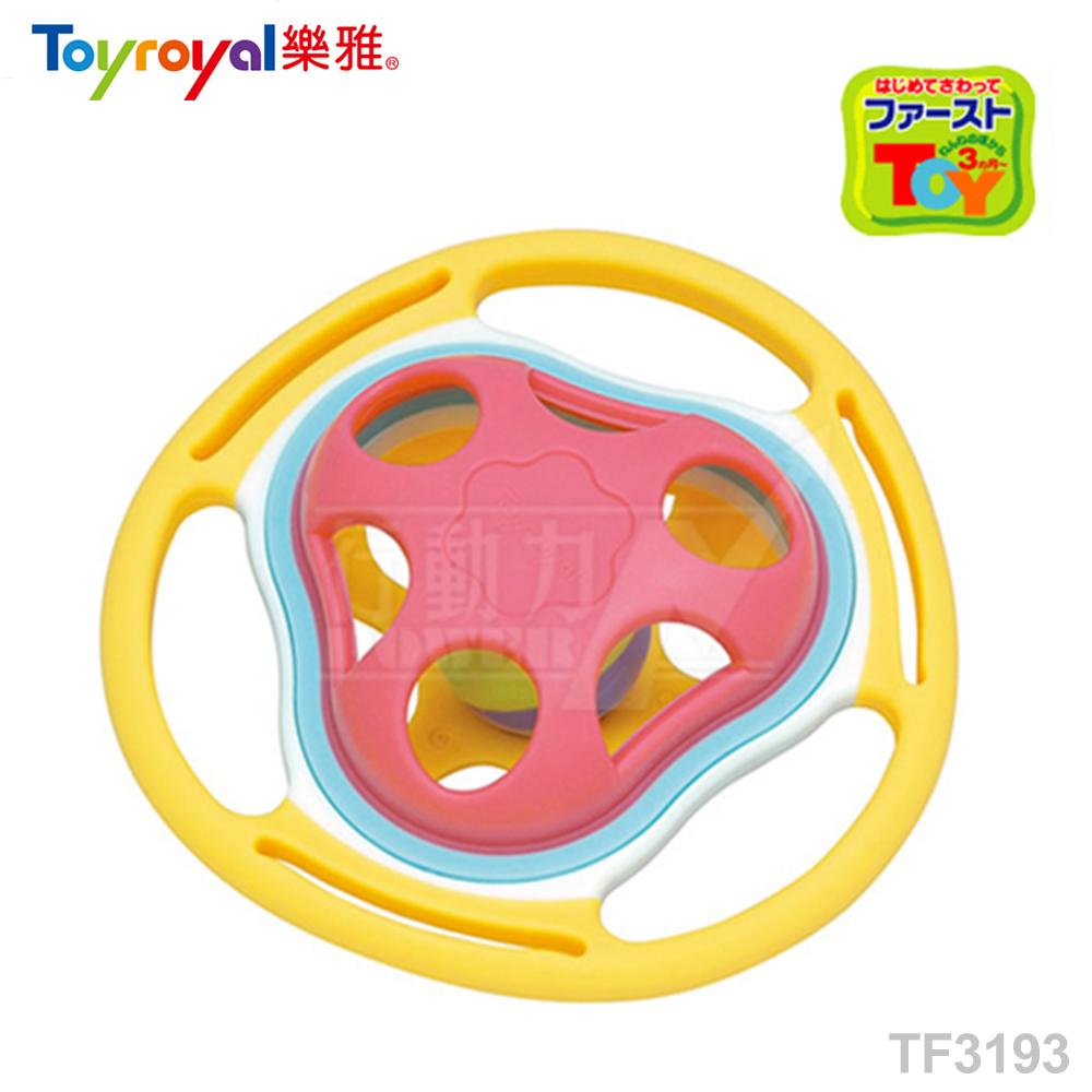 【任選】日本《樂雅 Toyroyal》LOVE系列-鈴鐺固齒玩具(有聲音)