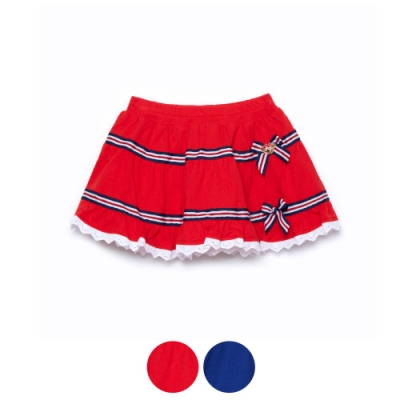 WHY AND 1/2 棉質萊卡短裙-內短褲 5Y~10Y 多色可選