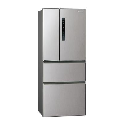 Panasonic國際牌500L四門變頻冰箱 NR-D500HV-L 絲紋灰