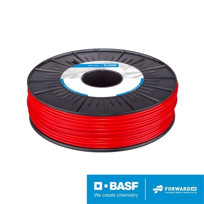 Ultrafuse_3D列印線材750g_ABS紅色1.75mm (德國巴斯夫出品 荷蘭製造 )
