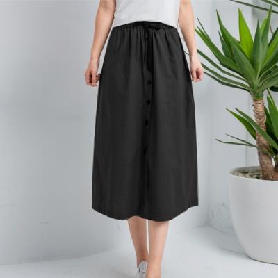 【白鵝buyer】韓國製百搭100%棉七分寬裙