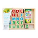美國crayola 早教創意啟蒙4合1正方體學習積木塊