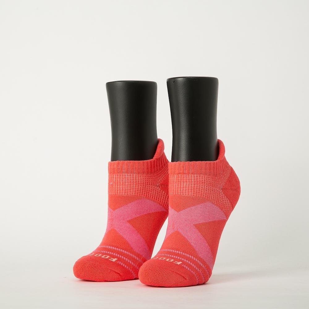 Footer除臭襪-X型減壓經典護足船短襪-六雙入(黑色*2+桃紅色*2+紫色*2)