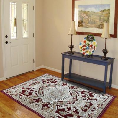 范登伯格 - 赫諾 立體絲質地毯 - 華貴紅 (135 x 195cm)