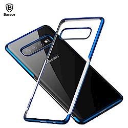 Baseus倍思 三星Galaxy S10 Plus 手機殼 電鍍 防摔 軟殼 保護套