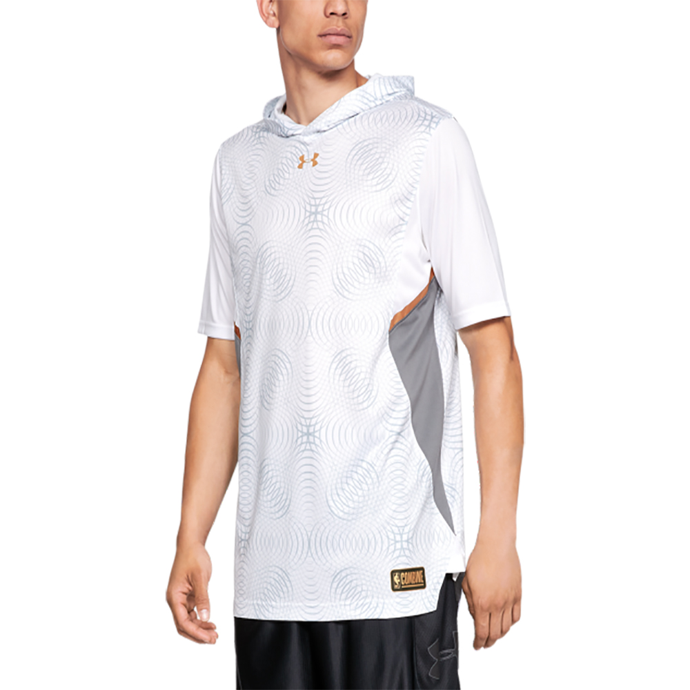 UNDER ARMOUR 男 短袖連帽上衣 product image 1