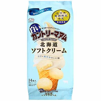 不二家 鄉村餅-霜淇淋風味(147g)