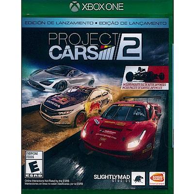 賽車計畫 2 Project Cars 2 - XBOX ONE 英文美版