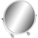 《VERSA》雙面立式桌鏡(白)