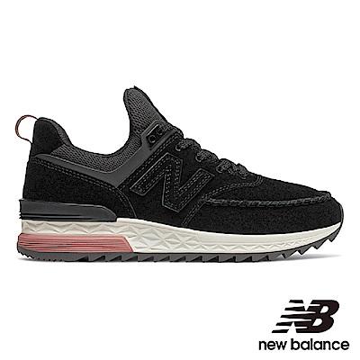 New Balance 休閒鞋 WS574PSB-B 女性 黑