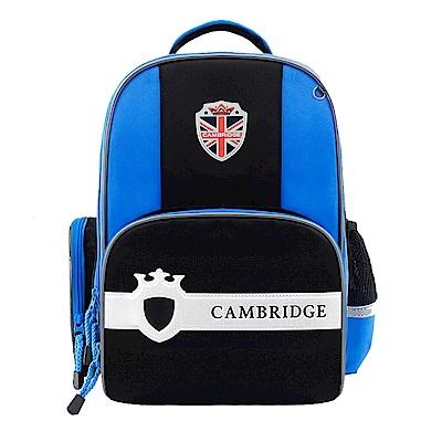 DF 童趣館 -英國皇家徽章閃燈兒童書包後背包-共2色