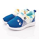 侏羅紀公園童鞋 恐龍超輕透氣運動鞋款 EI3051藍(中小童段)