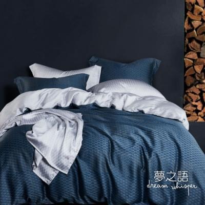 夢之語 頂級100%純天絲兩用被床包四件組 (溫妮費德) 雙人