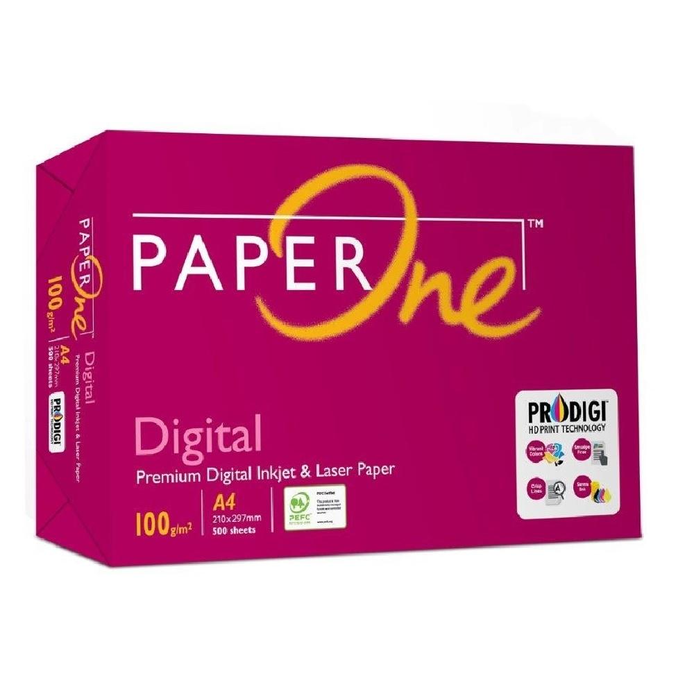 PaperOne Digital 雷射/噴墨影印紙 A4 100G 4包/箱