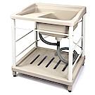 Aaronation 新型塑鋼洗衣槽 GU-A1008