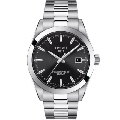 TISSOT天梭GENTLEMAN紳士的品格機械錶(T1274071105100)