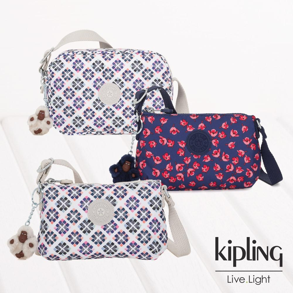 [限時搶]Kipling 拉鍊造型側背包(多款任選均一價)
