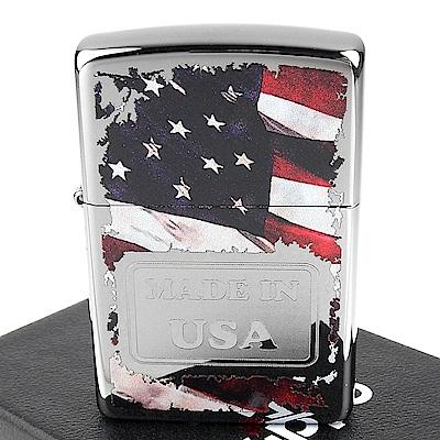 ZIPPO 美系 美國製造光澤蝕刻圖案設計打火機