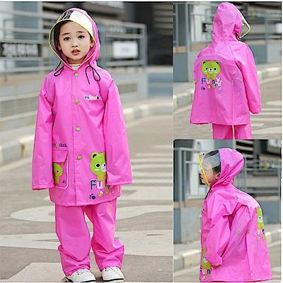 baby童衣 兒童兩件式雨衣 雨衣雨褲套裝 88076
