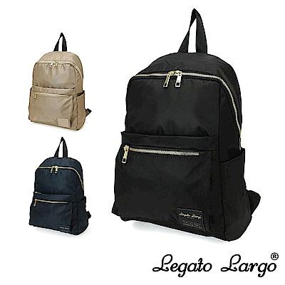 Legato Largo Lieto 微光澤感尼龍防潑水後背包