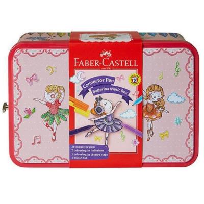 Faber-Castell 彩色筆 音樂盒連接筆25色 155095
