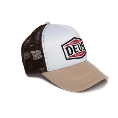 Deus American Twin Trucker棒球帽 - 米(男)