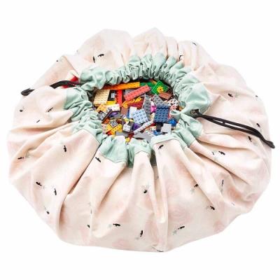 【比利時 Play & Go】玩具整理袋-皇冠天鵝