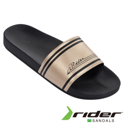 RIDER 男 R86 一字拖鞋-金