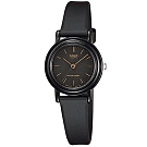 CASIO 簡單實用小錶面指針錶-黑面X點時刻(LQ-139AMV-1E)