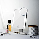 Ms.elec米嬉樂 觸控柔光化妝鏡 白 桌鏡 LED化妝鏡