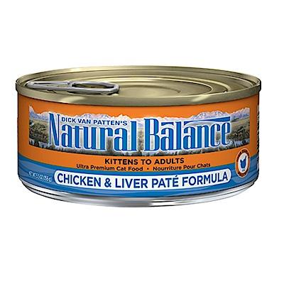 Natural Balance 特級系列貓用主食罐 5.5oz 六罐組