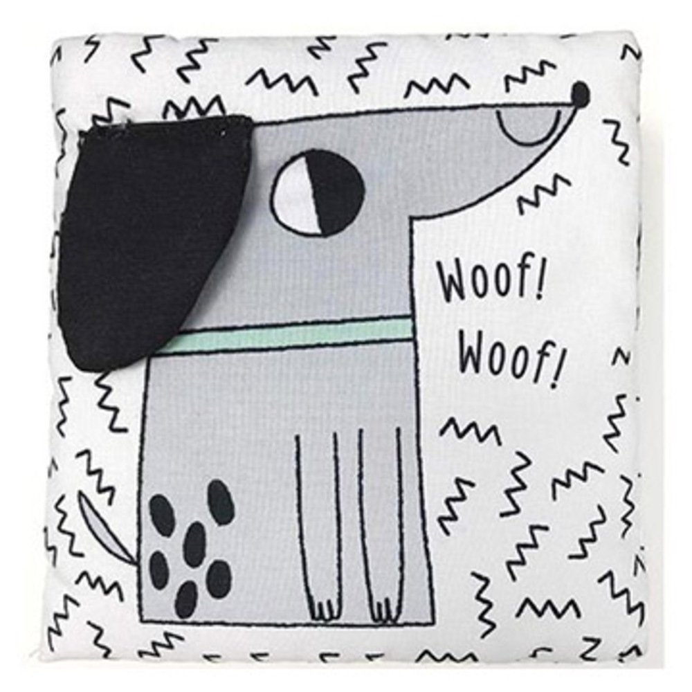 A Soft Concertina Cloth Book:Crinkle Pets 布書
