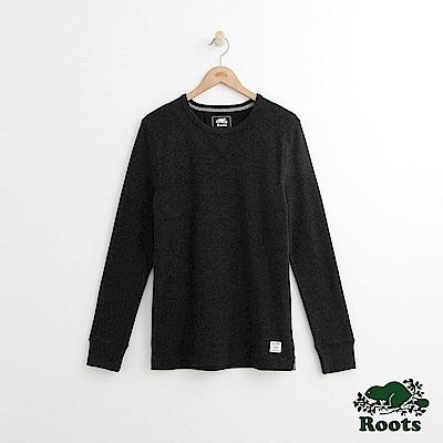 Roots 男裝-基拉尼圓領上衣-黑色