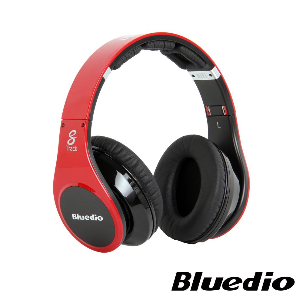 Bluedio (R-WH)高傳真立體聲耳機(紅)