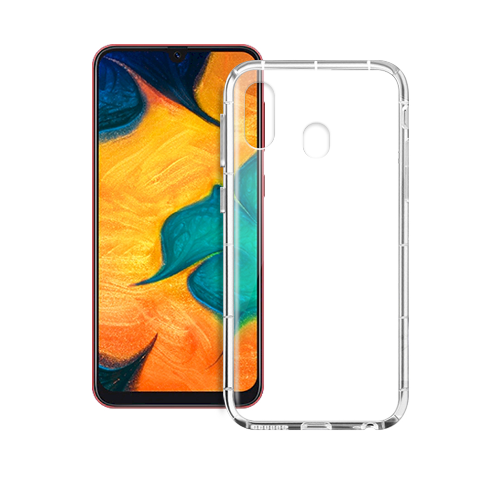 Xmart for Samsung Galaxy A20 / A30  加強四角防摔空壓殼