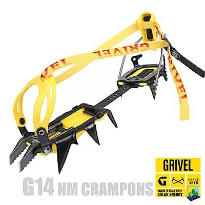 Grivel G14 NM CRAMPONS 可調綁帶式半快扣冰爪(12爪_CE認證)