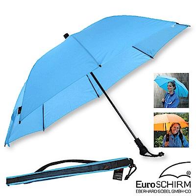 EuroSCHIRM SWING LITEFLEX 戶外專用直把傘_冰藍