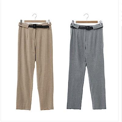 【Kinloch Anderson金安德森女裝】質感毛料長褲